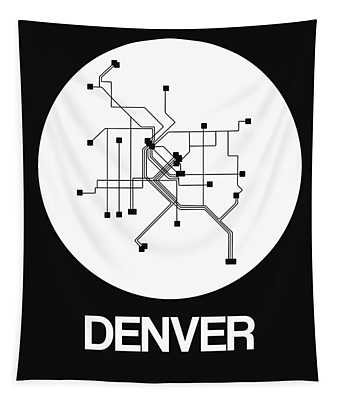 Black And White Subway Map Tapestry.Downtown Denver Wall Tapestries Fine Art America
