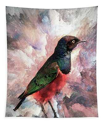 Desaturated Starling Tapestry