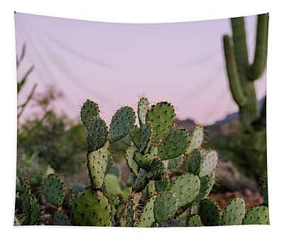 Desert Heart Tapestry