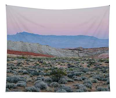 Desert On Fire No.2 Tapestry