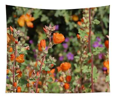 Desert Wildflowers Tapestry