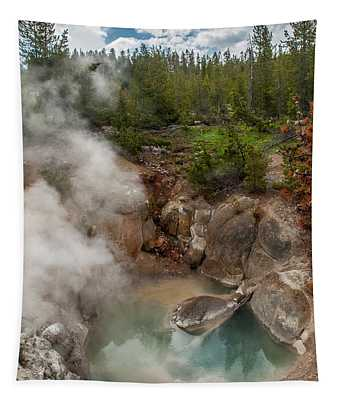 Devil's Cauldron  Tapestry