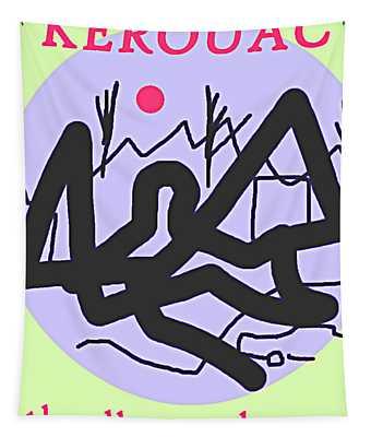 Dharma Bums Kerouac Poster Tapestry