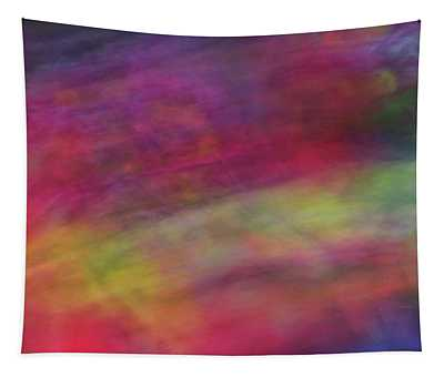 Diagonal Soft Abstract Diagonal Lines Rainbow Colors Background Artwork Tapestry
