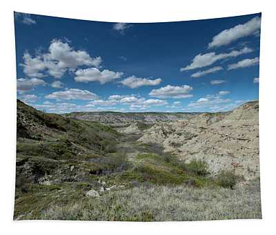 Dinosaur Fossil Country Tapestry