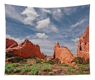 Dinosaur Shaped Rock Tapestry