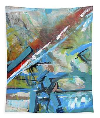 Dirt To Highway Tapestry