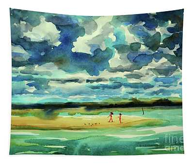 Disappearing Island Afternoon 2018 Tapestry