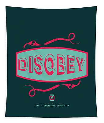 Disobey Logo Tapestry