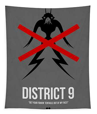 District 9 Tapestry