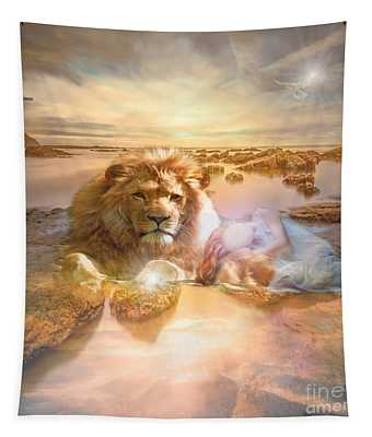 Divine Rest Tapestry