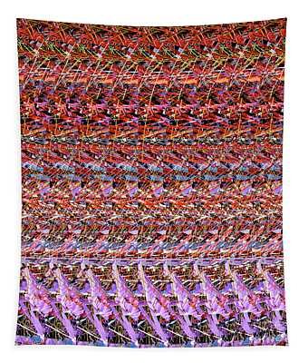 Dna Autostereogram Abstract Curves #38 1 Tapestry