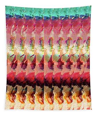Dna Autostereogram Qualias Jungle Bl Tapestry