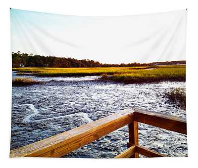 Dock Point Tapestry