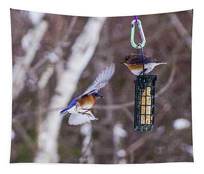 Docking Bluebird Tapestry