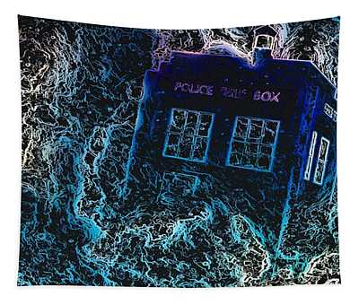 Doctor Who Tardis 3 Tapestry