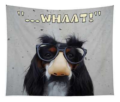 Dog Gone Funny Tapestry