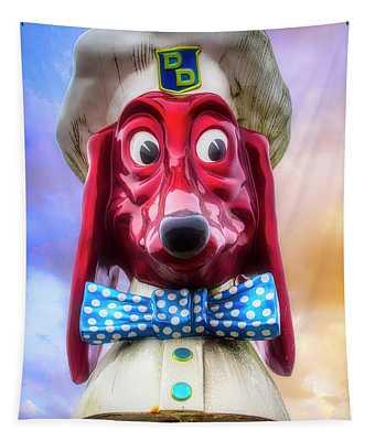 Doggie Dinner Icon San Francisco Tapestry