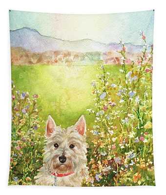 Doggie Heaven Tapestry