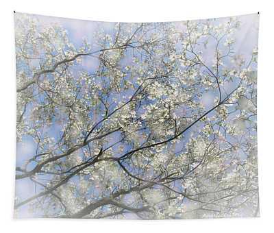 Dogwood Impressions Tapestry