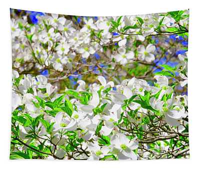 Dogwood Tree In Bloom Tapestry