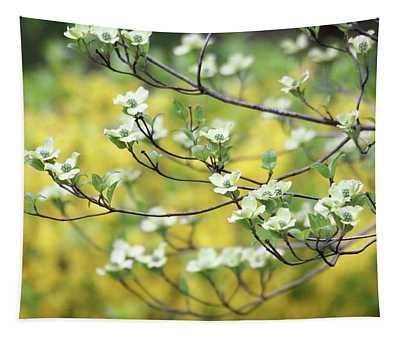 Dogwood Tree In Bloom Tapestry