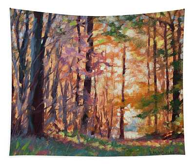 Doorway - Enchanted Woods Tapestry