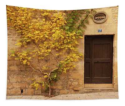 Doorway, Sarlat, France Tapestry