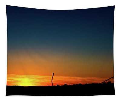 Dorney Park Sunset Tapestry