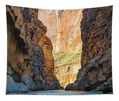 Down The Canyon Tapestry