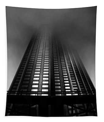 Downtown Toronto Fogfest No 11 Tapestry