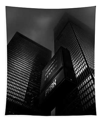 Downtown Toronto Fogfest No 15 Tapestry