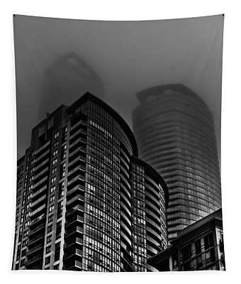 Downtown Toronto Fogfest No 22 Tapestry