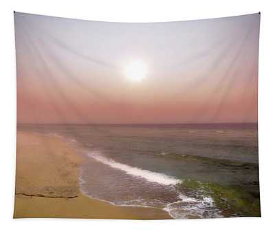 Dreamland Morning By The Seashore Tapestry