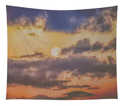 Dreamy Moon Tapestry