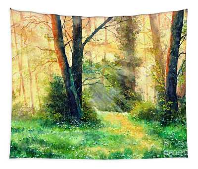 Dreamy Sunset Tapestry