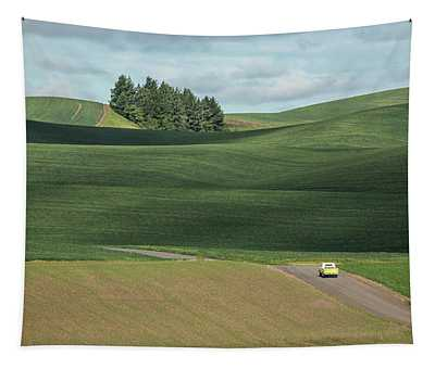 Drive In The Palouse Tapestry