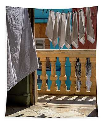Drying Napkins Tapestry