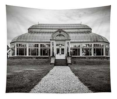 Tapestry featuring the photograph Duke Farms Conservatory by Steve Stanger