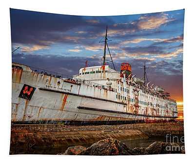 Duke Of Lancaster Ship Tapestry