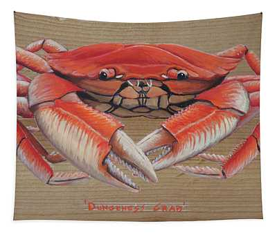 Dungeness Crab Tapestry