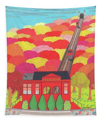 Duquesne Incline Tapestry