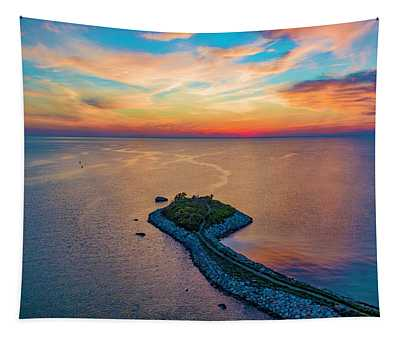 Dusk At The Knob Tapestry