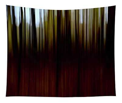 Dusk In The Woods Tapestry