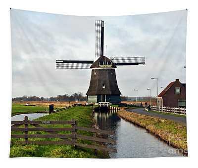 Dutch Wind Mill Sound Tapestry