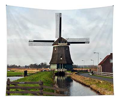 Dutch Wind Mill Sound Tapestry