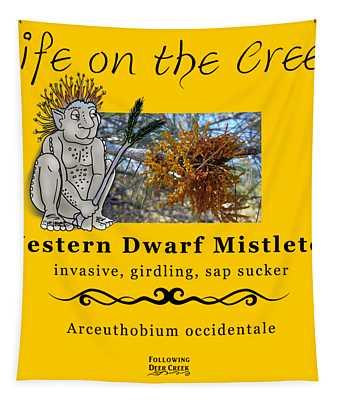 Dwarf Mistletoe Tapestry
