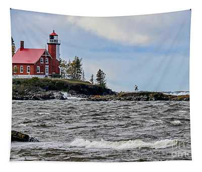 Eagle Harbor Lighthouse Tapestry