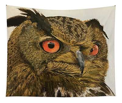 Eagle-owl Tapestry