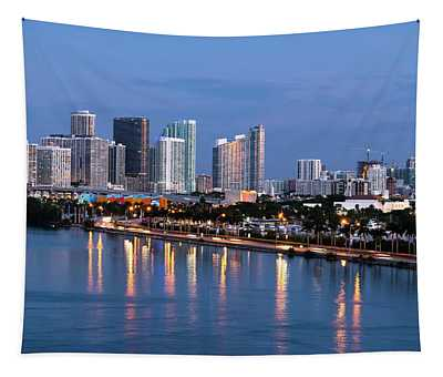 Early Rise Miami Tapestry